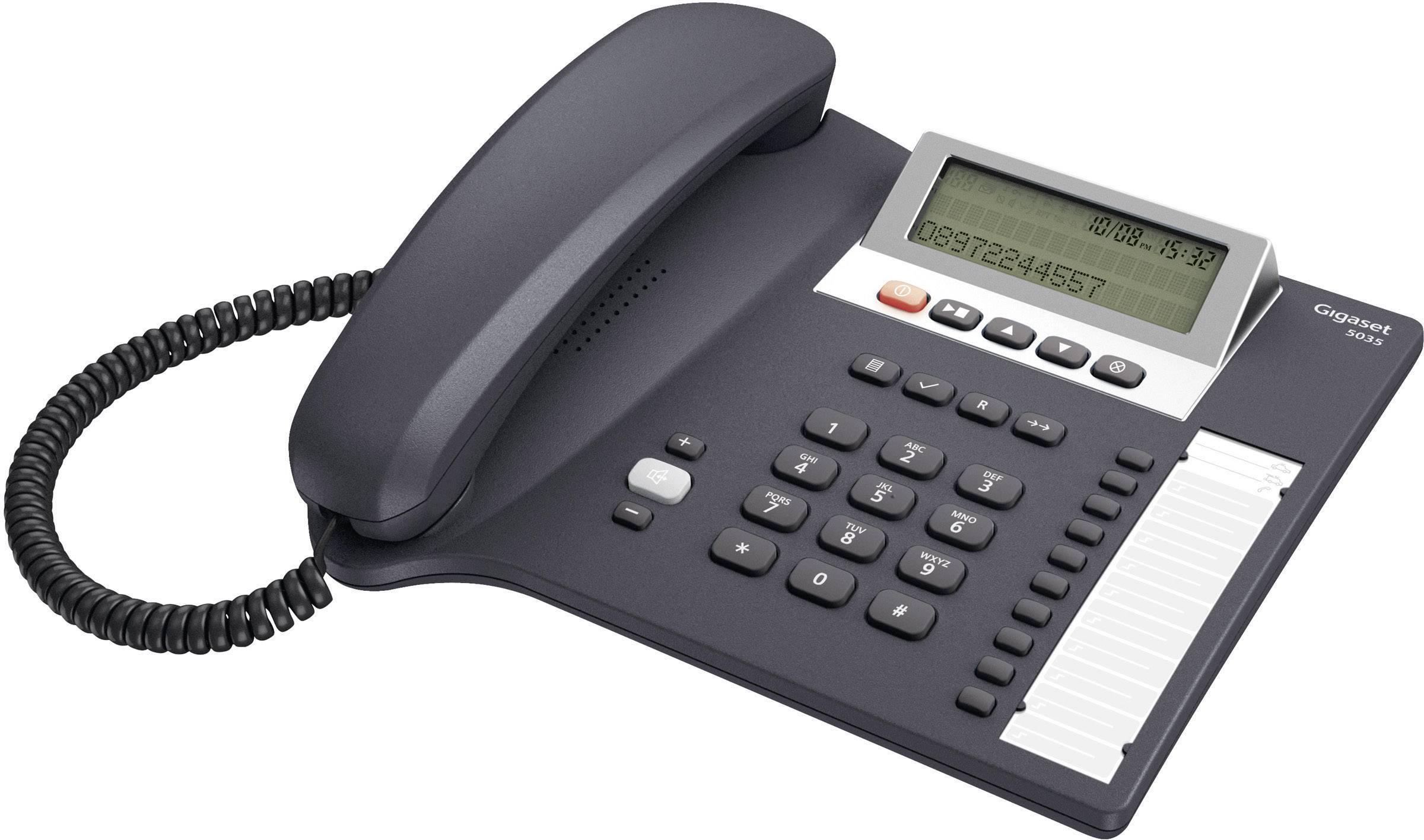 Šňůrové telefony