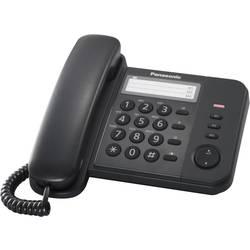 Šňůrový telefon, analogový Panasonic KX-TS520GB bez displeje černá