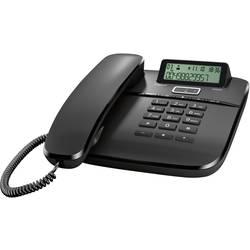 Šňůrový telefon, analogový Gigaset DA610 handsfree matný černá