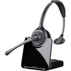 Telefonní headset DECT bez kabelu, mono Plantronics CS510 na uši černá
