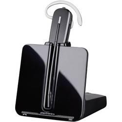 Telefonní headset DECT bez kabelu, mono Plantronics CS540 do uší , na uši černá