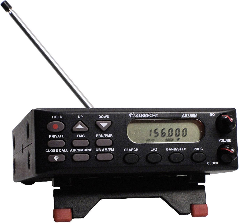 Rádiový stolní skener Albrecht AE355M