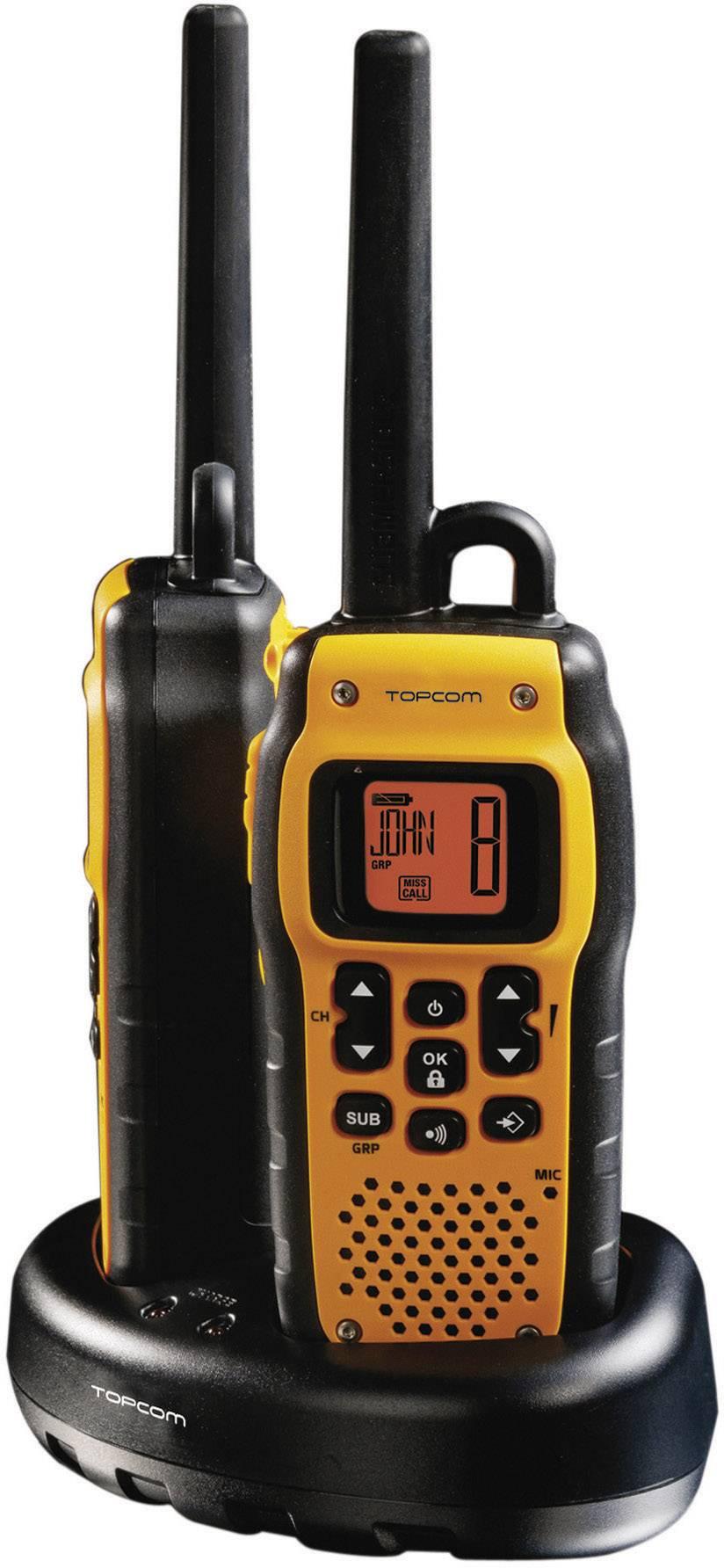 Sada vodotesných PMR vysielačiek Topcom Protalker PT-1078