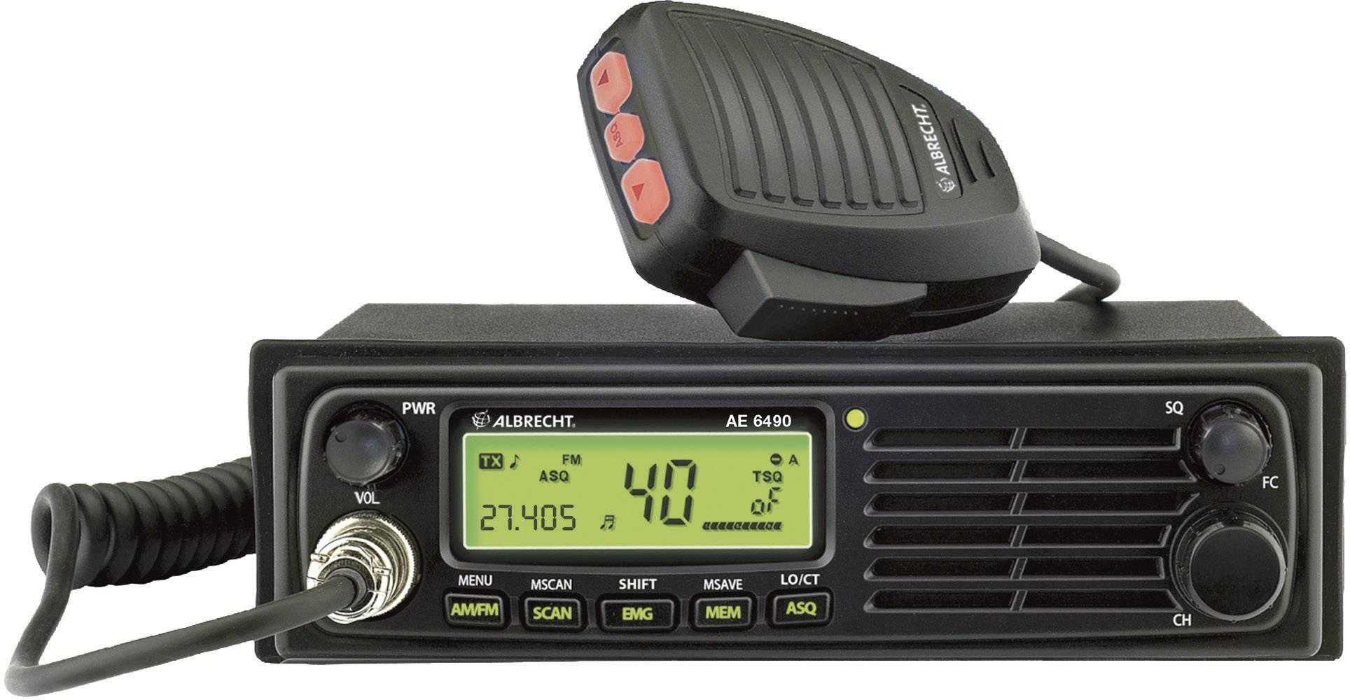 CB rádiostanica/vysielačka Albrecht AE6490 12649.4