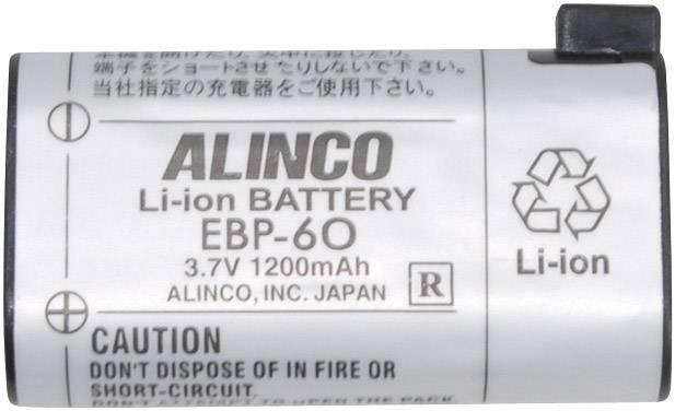 Akumulátor pre rádiostanice Alinco, nahrádza EBP-60, 3.7 V, 1200 mAh, 2022