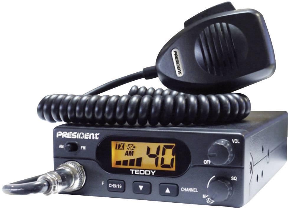 CB rádiostanica/vysielačka President Teddy 40331