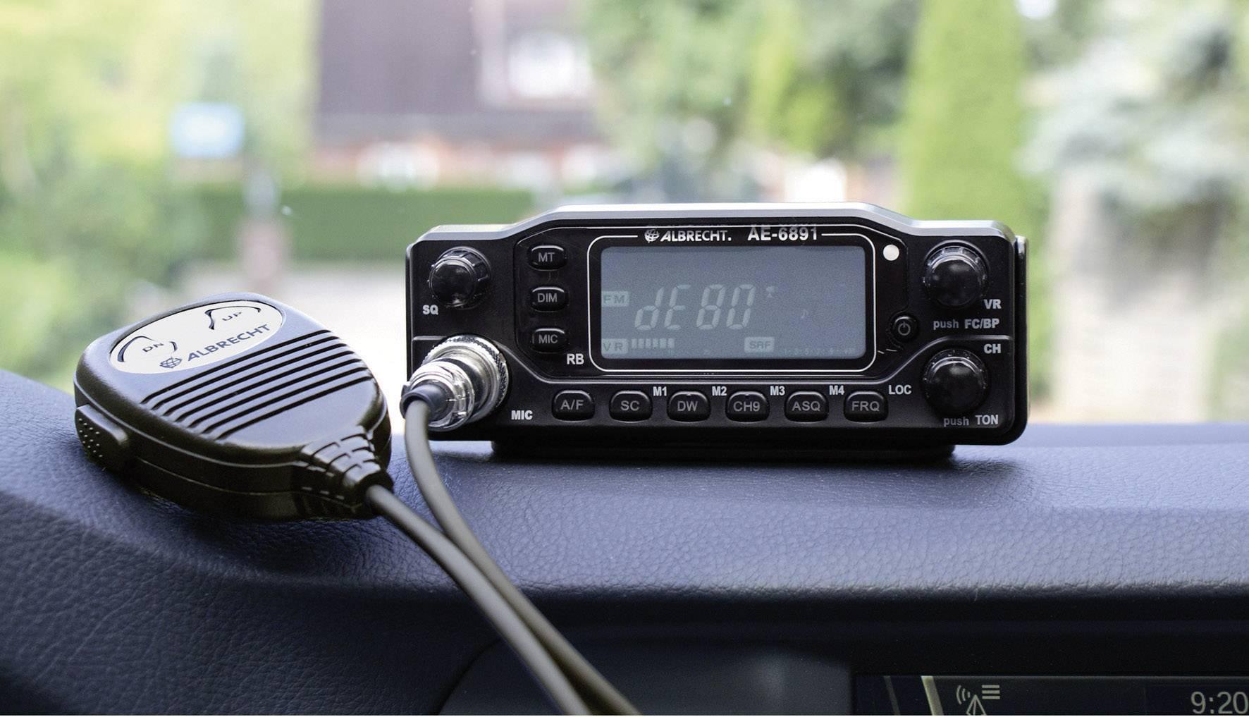 CB rádiostanica/vysielačka Albrecht AE-6891 12691