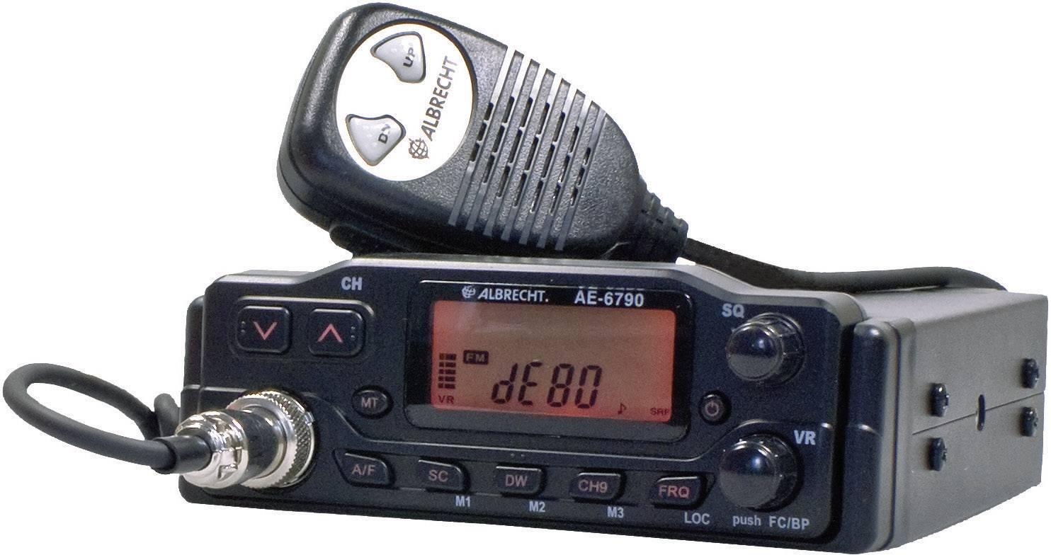 CB rádiostanica/vysielačka Albrecht AE-6790 12679