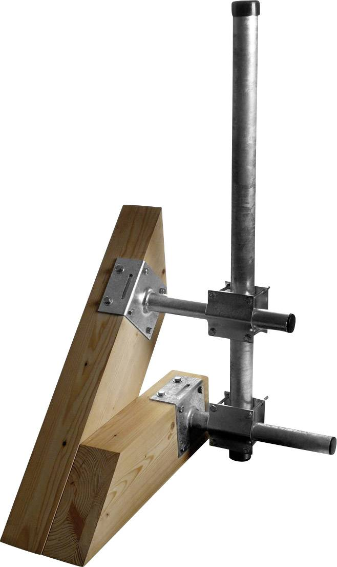 Držák stožáru A.S. SAT 51020 Vhodný pro Ø stožáru (max.): 60 mm