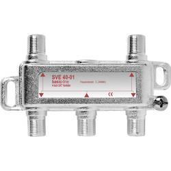 Satelitní rozdělovač čtyřnásobný SVE 40-50