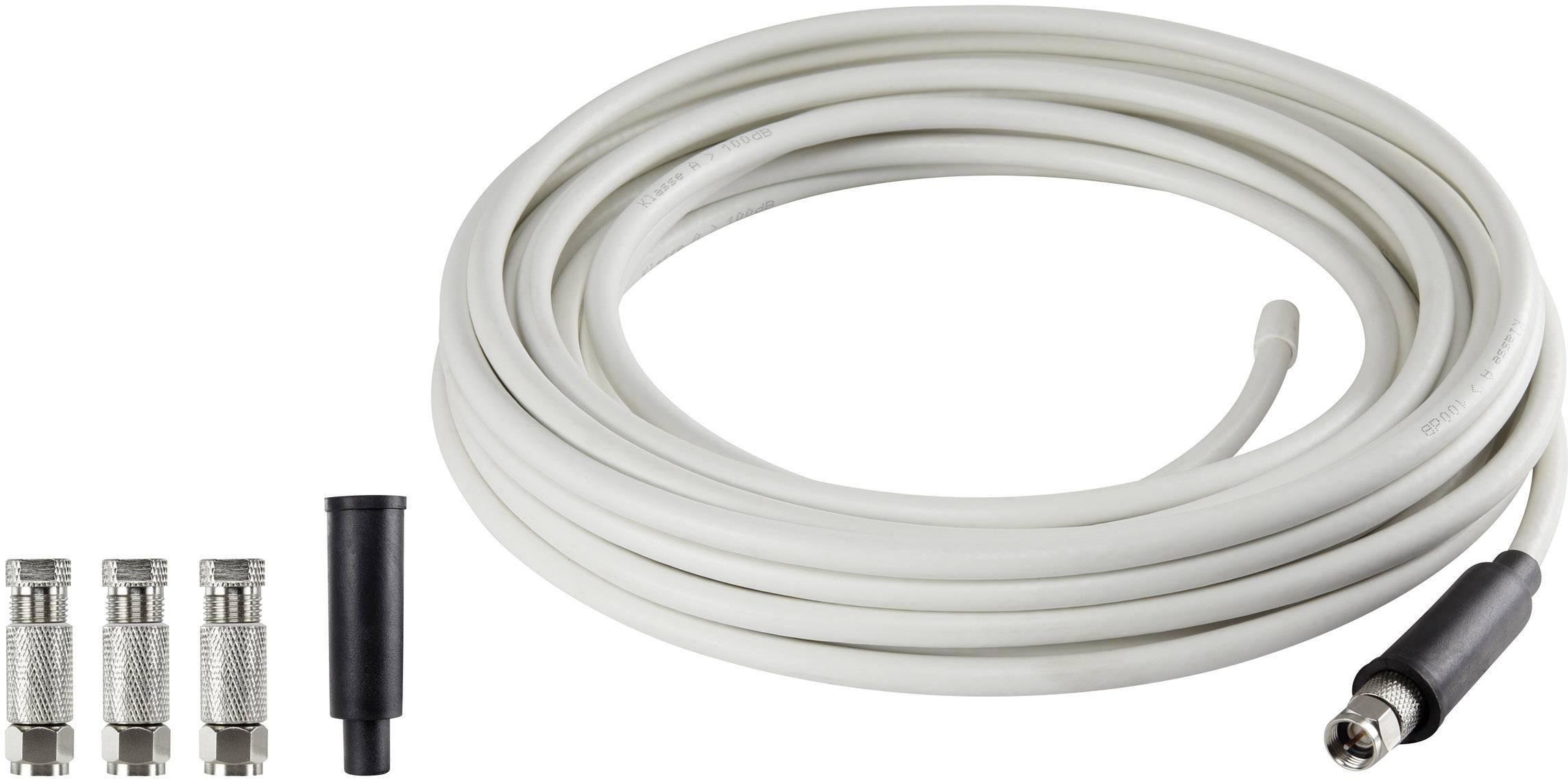 Koaxiálny kábel s F konektormi RENKFORCE SKB 488-40 Koax 40 m
