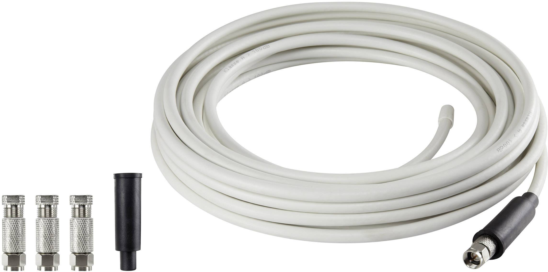Koaxiální kabel s F konektory Renkforce SKB 88-52 Koax 20 m