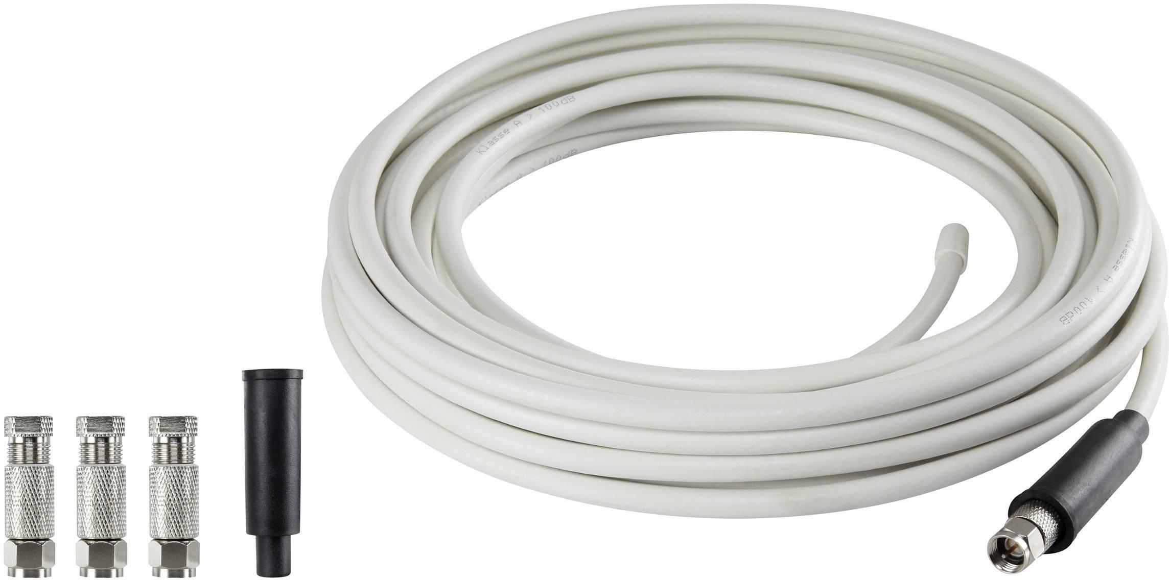 Koaxiálny kábel s F konektormi RENKFORCE SKB 88-52 Koax 20 m