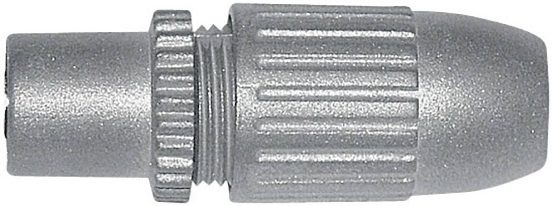 Zásuvka koaxiálního kabelu, 410328, 5 - 7 mm, litá