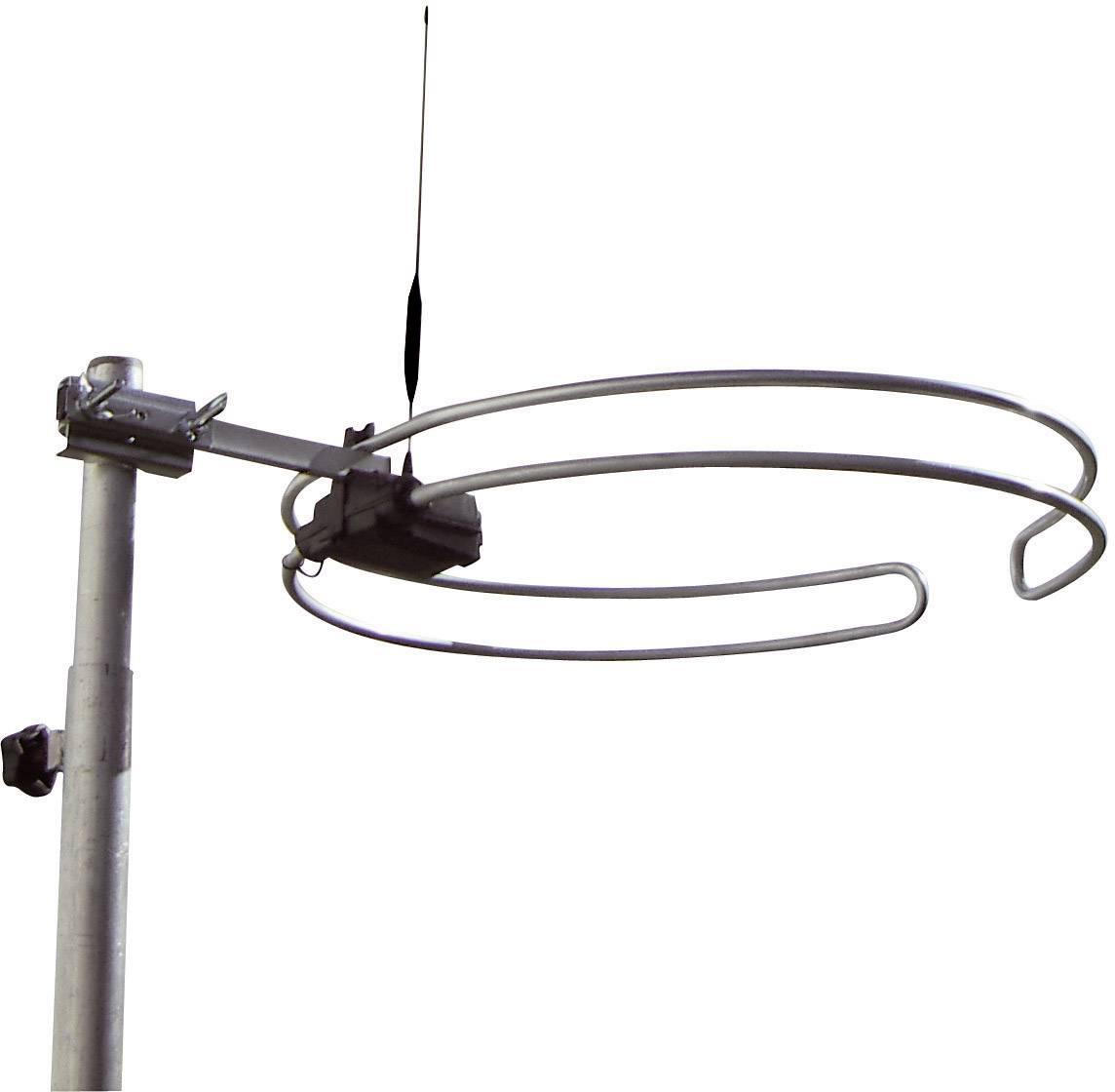 Pasivní střešní DVB-T/T2 anténa Wittenberg Antennen Multiband WB 2345-2, venkovní, stříbrná
