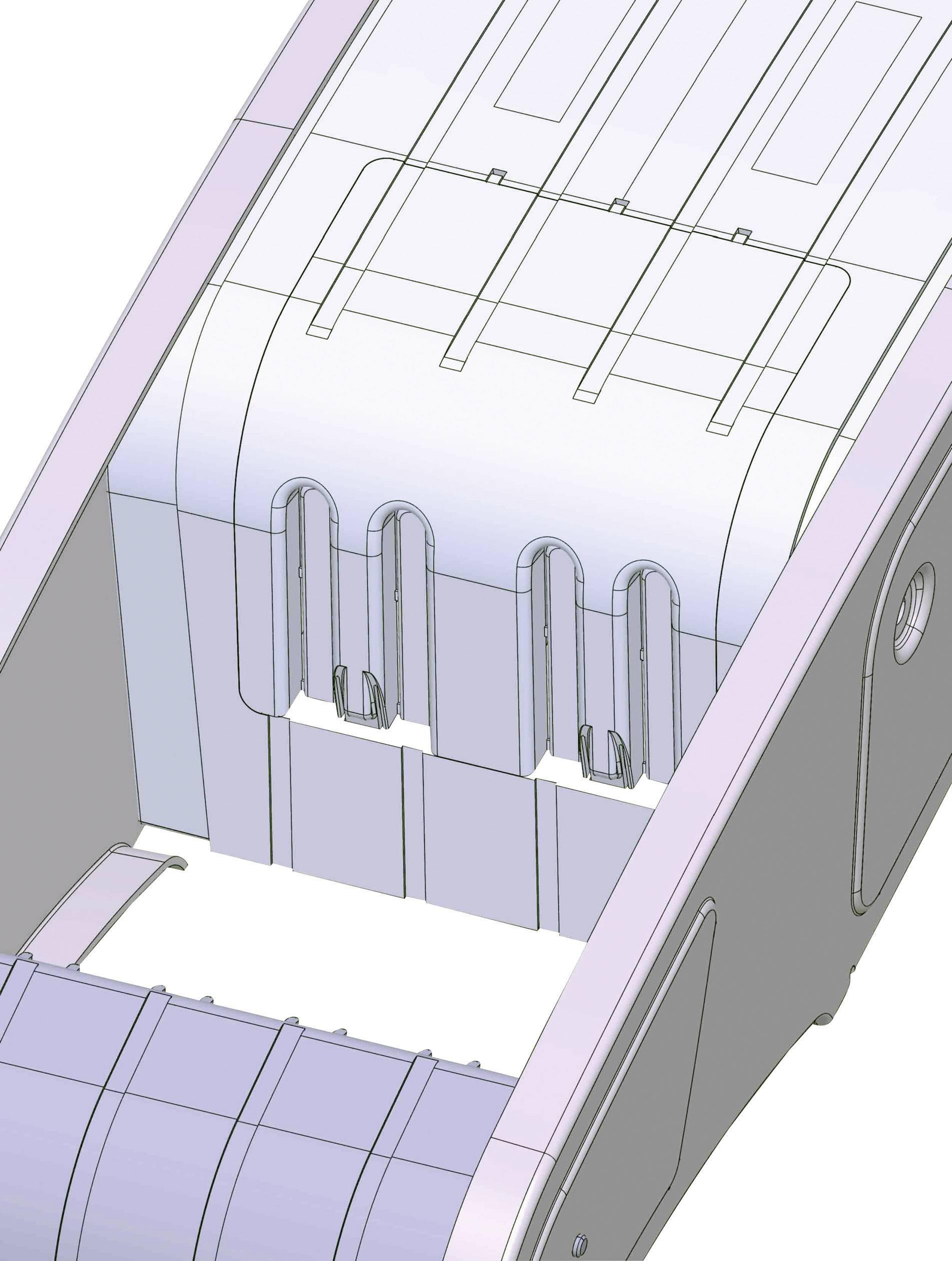 Satelitní anténa, Fuba DAA 850 G, 85 cm, světle šedá
