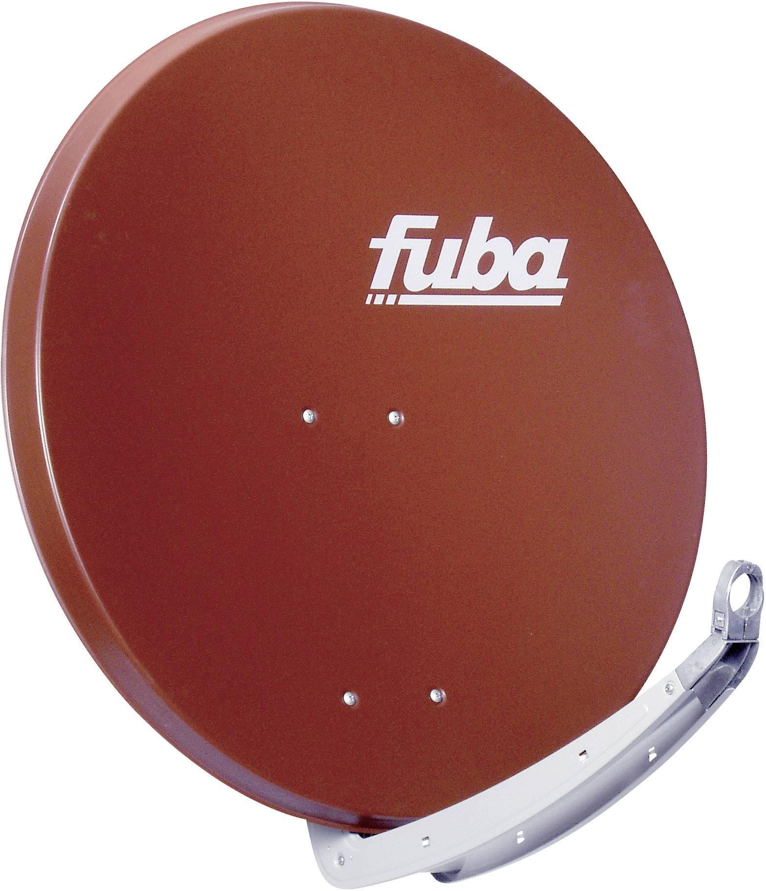 Satelitní anténa, Fuba DAA 850 R, 85 cm, červená