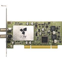 DVB-S (satelit) PCI- PCTV Systems Dual SAT Pro 4000i s dálkovým ovládáním, funkce nahrávání počet tunerů: 2