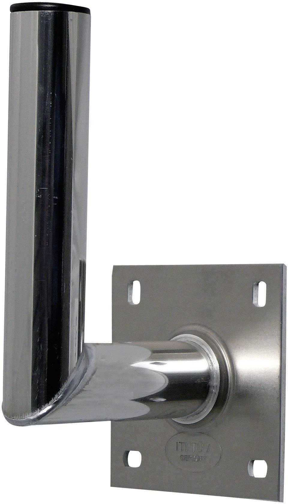 SAT držiak na stenu A.S. SAT 10015, 15 cm, Ø do 90 cm, hliník, strieborná