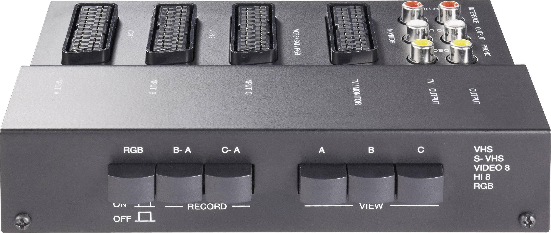 Audio / video rozbočovače a prepínače