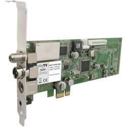 DVB-C (kabel), DVB-S (satelit), DVB-T (anténa), DVB-T2 (anténa), Twin Tuner, analogový PCIe- Hauppauge HVR-5525HD funkce nahrávání, s dálkovým ovládáním počet tunerů: 2