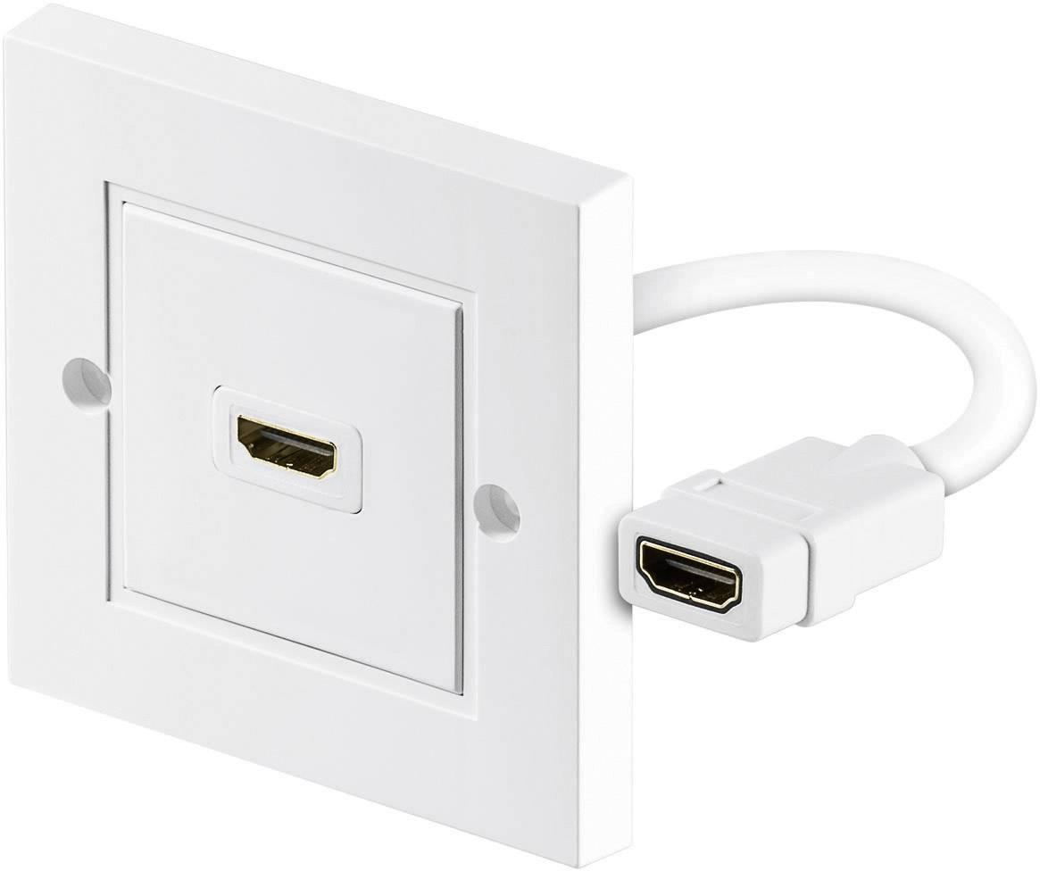 HDMI adaptér Goobay 51722, biela