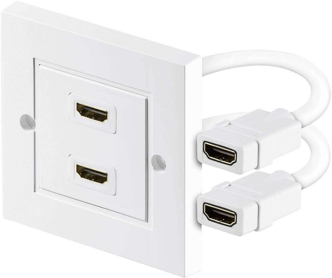 HDMI adaptér Goobay 51723, biela