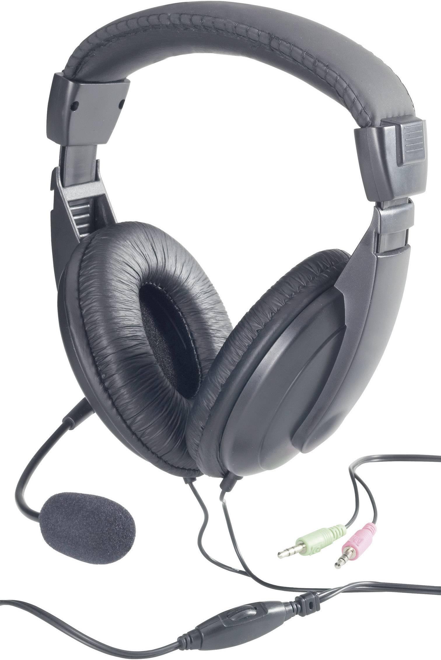 Headset k PC TW-260A, černá