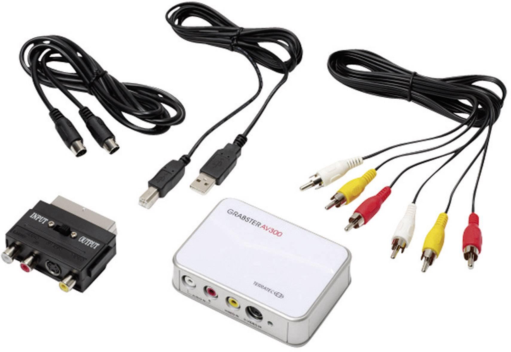 USB zariadenie na prevod videa do digitálneho záznamu, Terratec Grabster AV 300 MX 10764