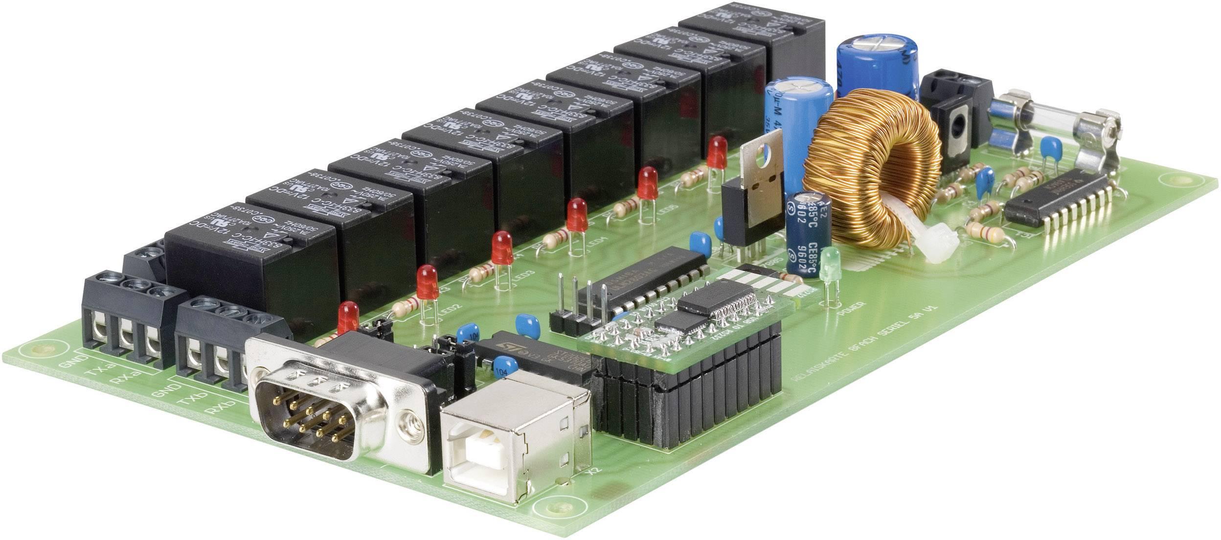 Relé karta stavebnicový diel Conrad Components 197720 12 V/DC, 24 V/DC