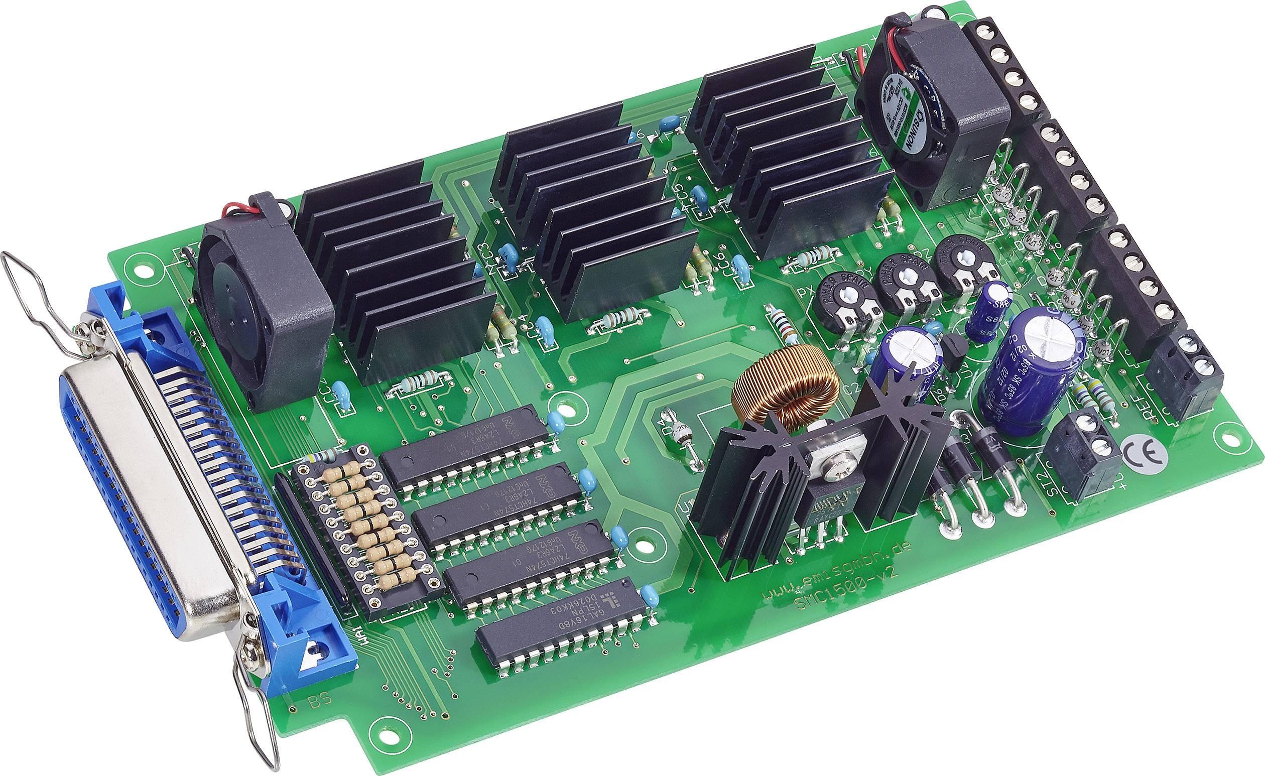 Řídící karta krokového motoru SMC- 1500