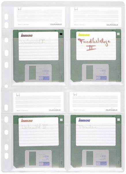 Závěsný obal A4 na diskety, 4 ks