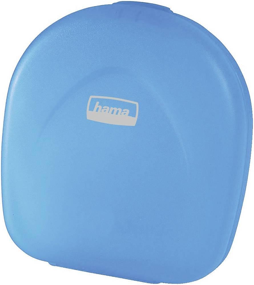 Box Hama 24 na CD, transparetní modrá