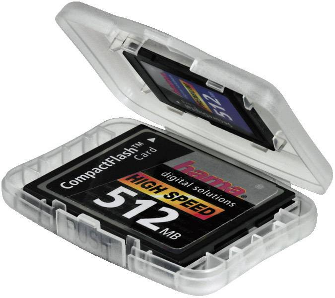 Púzdra na pamäťové karty a flash disky