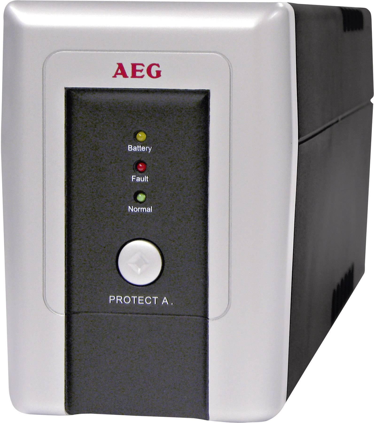 UPS záložný zdroj energie AEG Power Solutions PROTECT A.700, 700 VA