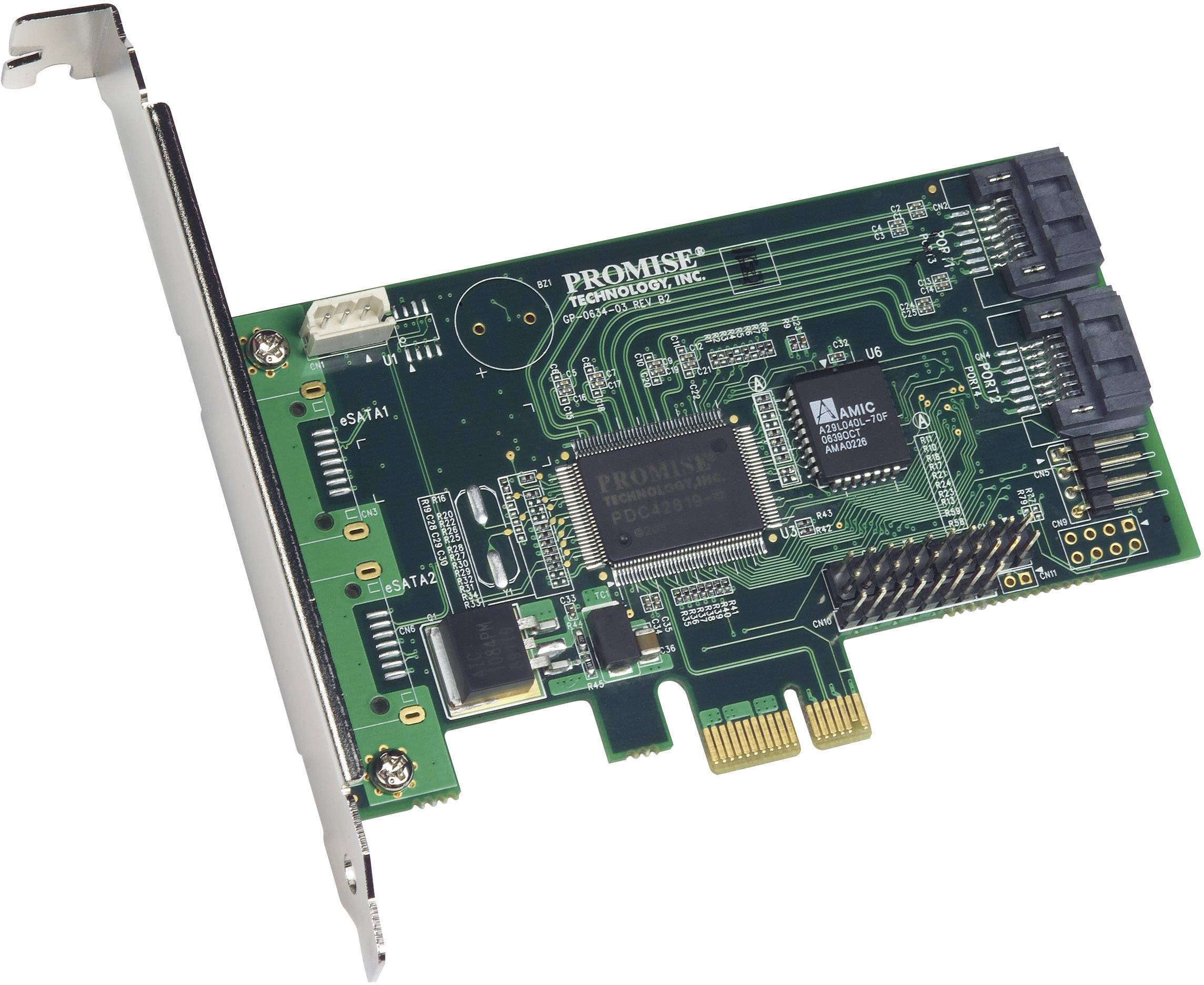Karty kontrolérů pevných disků, SATA, SAS