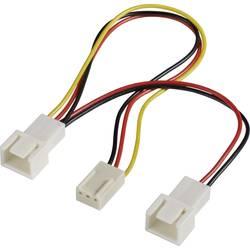 Y kabel k PC ventilátoru PC větrák Akasa AK-H254 AK-FY320, 15.00 cm, černá, červená, žlutá