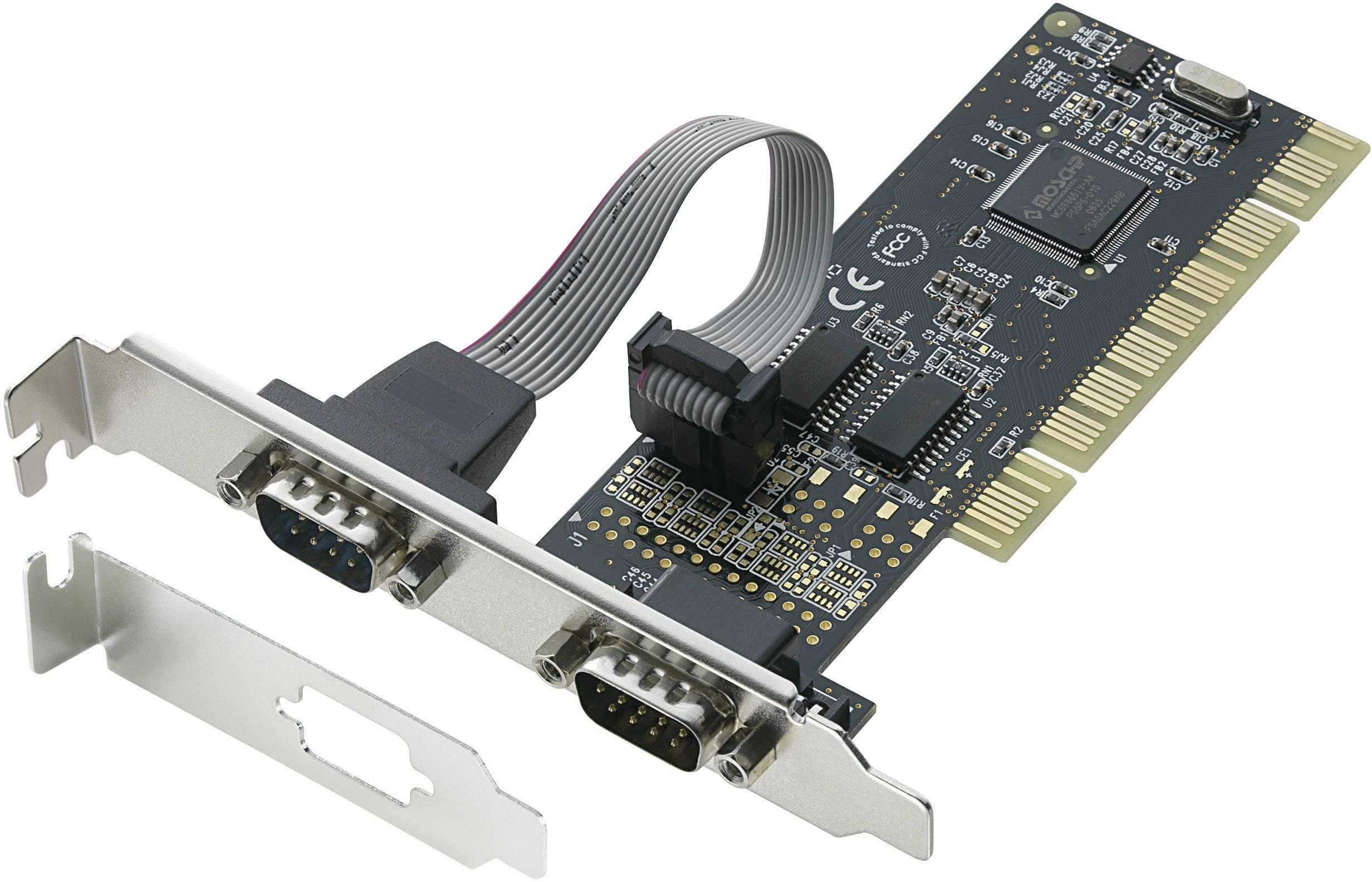 Karta do PCI, 2x sériový port RS-232