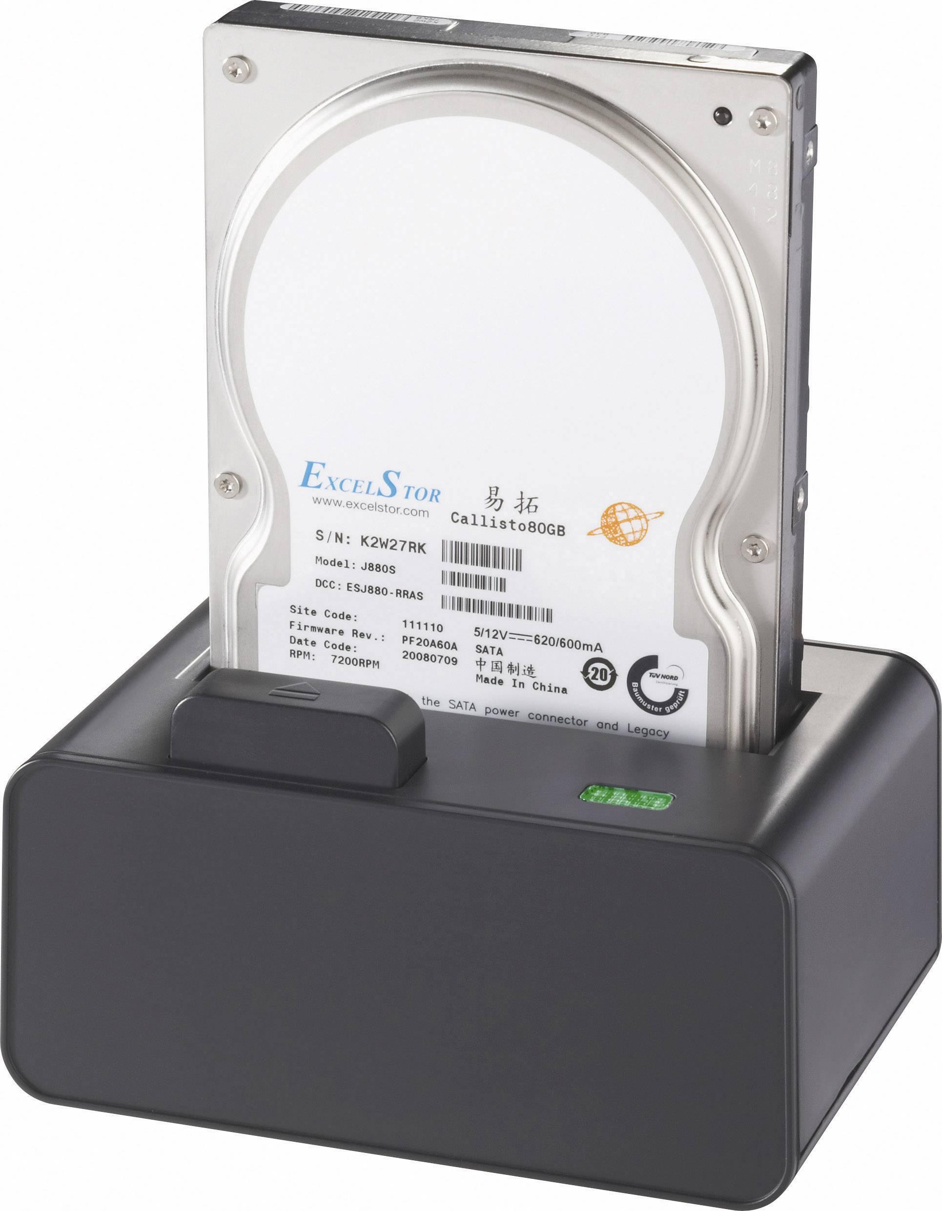 Dokovacia stanica pre pevný disk Renkforce rf-docking-01 RF-3039978, USB 2.0, eSATA