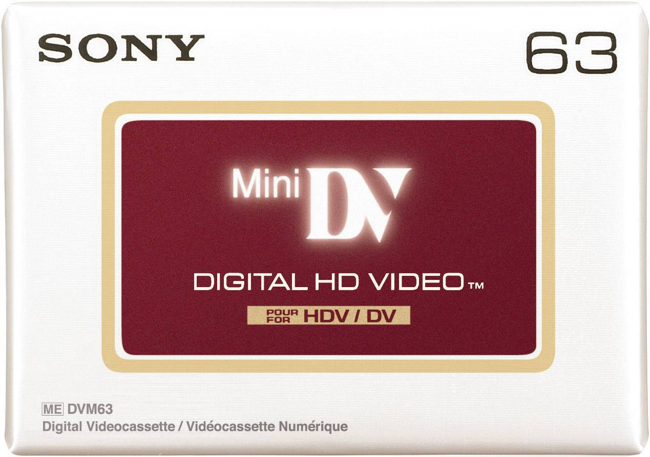 Videokazeta miniDV Sony DVM63HDV, 63 min