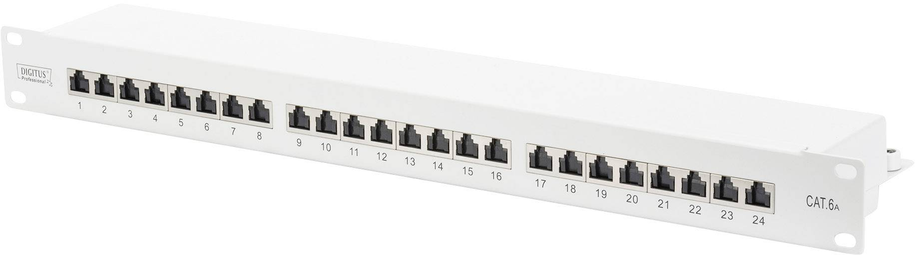 Sieťový Patchpanel Digitus Professional DN-91624S-EA, 24 portov, 1 U