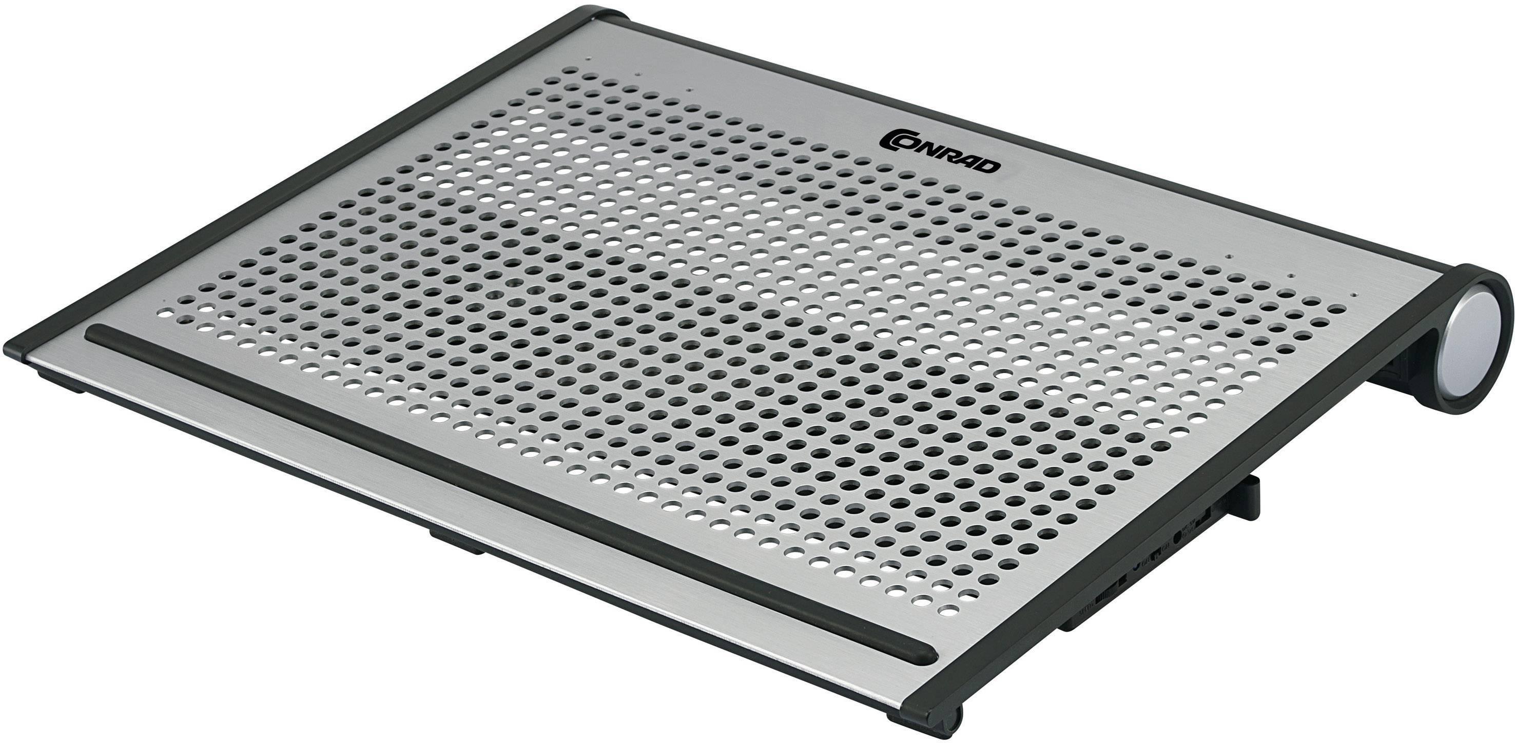 Chladicí podložky pro notebookConrad Alu XL