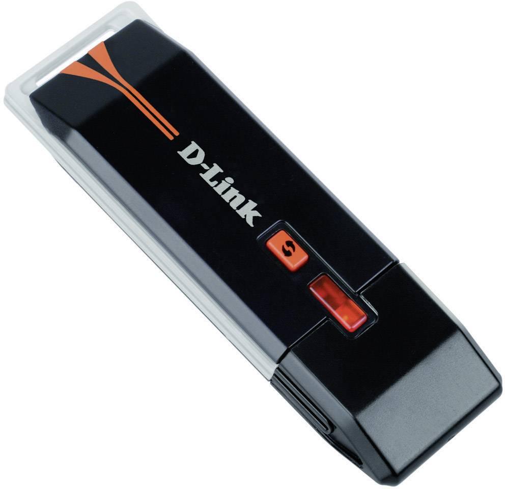 USB 2.0 Wi-Fi adaptér D-Link DWA-125, 150 Mbit/s