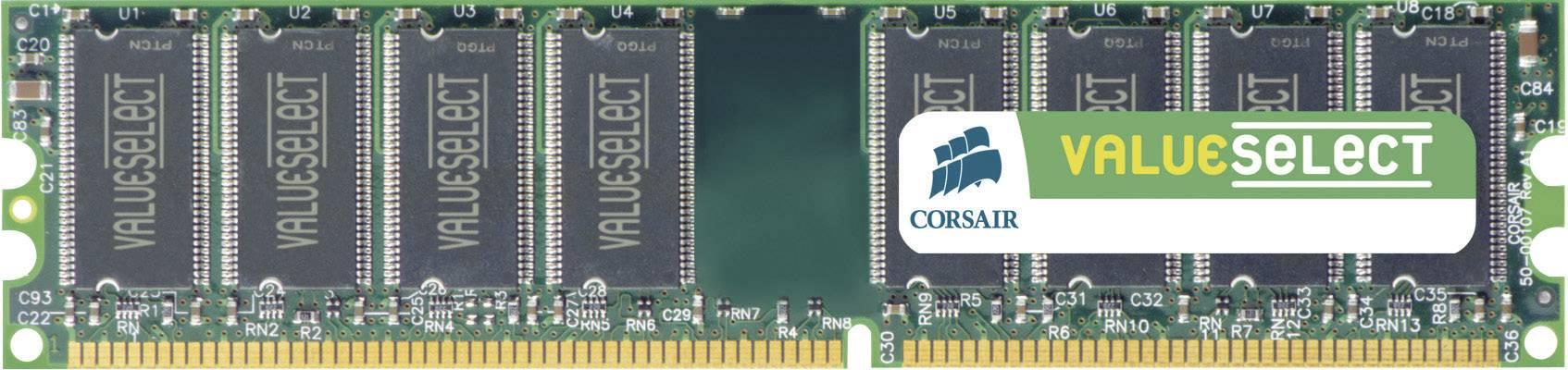 Operační paměť do PC Corsair, VS512MB400, DDR-RAM, 400 MHz, 512 MB