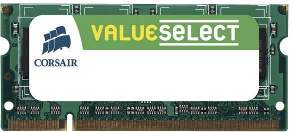Operační paměť do notebooku Corsair, VS1GSDS533D2, DDR2-RAM, 533 MHz