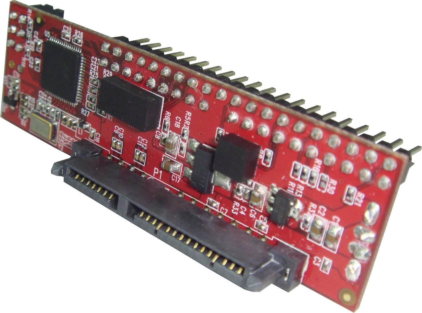 Adaptér rozhraní Renkforce RF-4886682 RF-4886682, [1x IDE zástrčka 40-pólová - 1x kombinovaná SATA zásuvka 15+7-pólová]