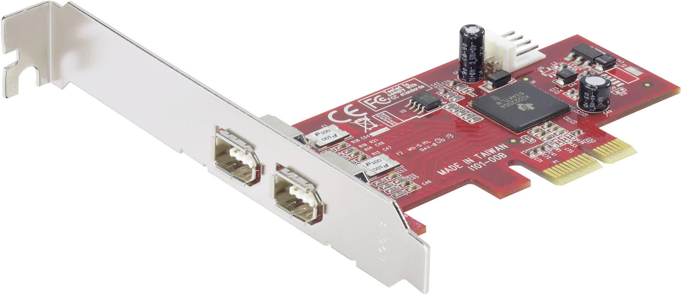 2portová karta FireWire PCI-Expres Renkforce RF-1949356