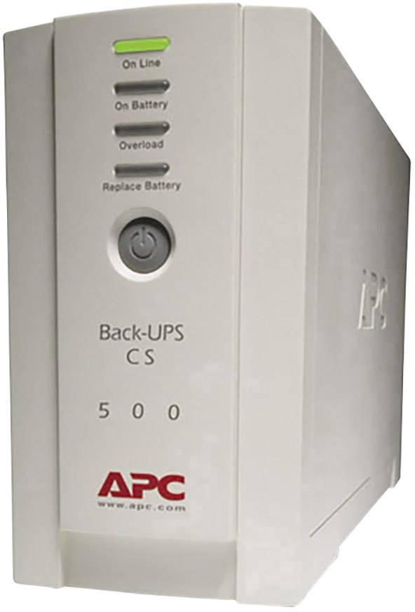 UPS záložný zdroj energie APC by Schneider Electric Back UPS BK500-EI, 500 VA