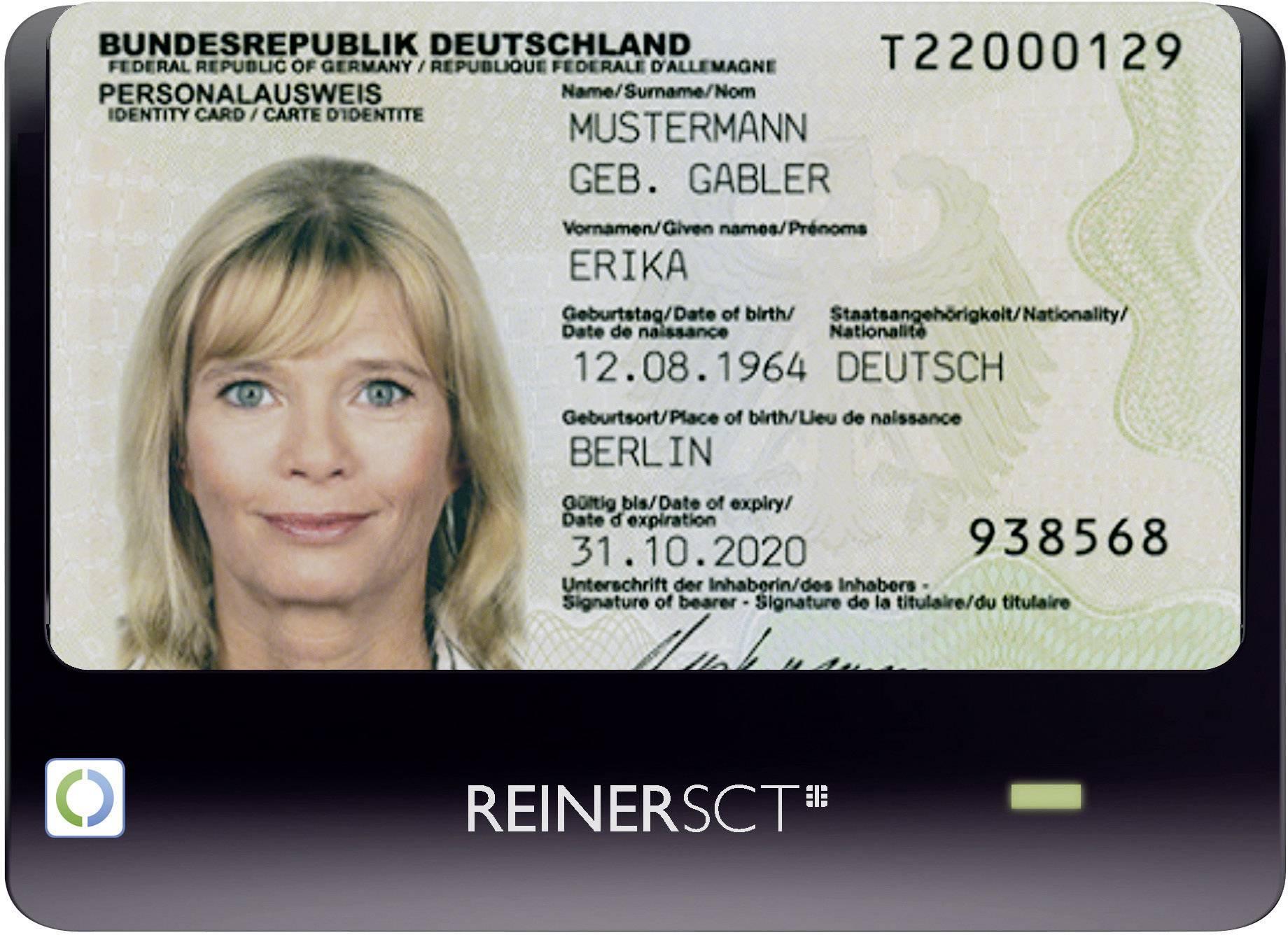 Čítačka osobných dokladov REINER SCT cyberJack RFID Basis
