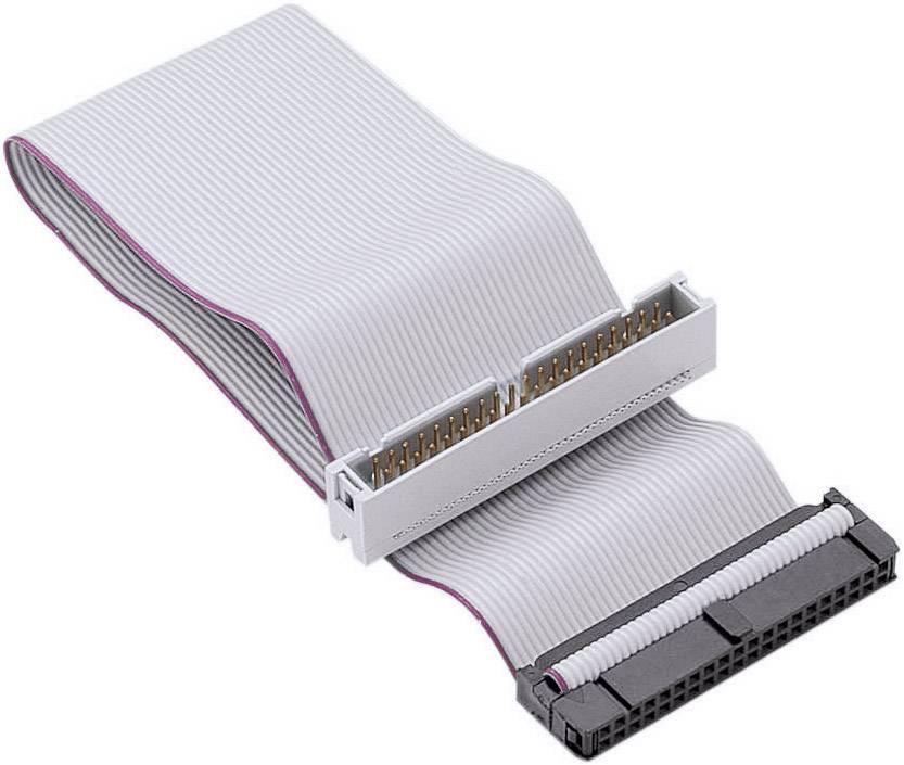 IDE prodlužovací kabel IDE zástrčka 40pólová ⇔ IDE zásuvka 40pólová, 0,2 m